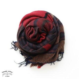 tamaki niime 玉木新雌 roots shawl wool middle RSM_W100/ ルーツショール ウール70% コットン30% ミドルサイズ