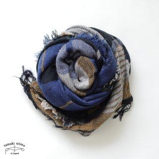 tamaki niime 玉木新雌 roots shawl wool middle RSM_W97/ ルーツショール ウール70% コットン30% ミドルサイズ