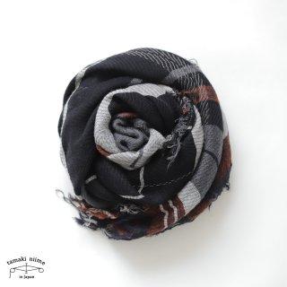 tamaki niime 玉木新雌 roots shawl wool middle RSM_W94/ ルーツショール ウール70% コットン30% ミドルサイズ