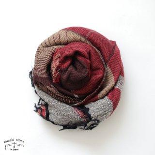 tamaki niime 玉木新雌 roots shawl wool middle RSM_W93/ ルーツショール ウール70% コットン30% ミドルサイズ