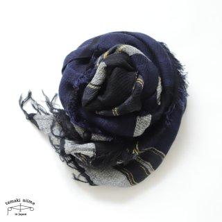 tamaki niime 玉木新雌 roots shawl wool middle RSM_W92/ ルーツショール ウール70% コットン30% ミドルサイズ