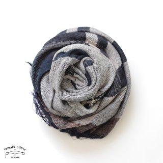 tamaki niime 玉木新雌 roots shawl wool middle RSM_W91/ ルーツショール ウール70% コットン30% ミドルサイズ
