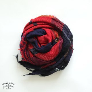 tamaki niime 玉木新雌 roots shawl wool middle RSM_W111/ ルーツショール ウール70% コットン30% ミドルサイズ