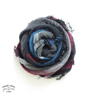tamaki niime 玉木新雌 roots shawl wool middle RSM_W110/ ルーツショール ウール70% コットン30% ミドルサイズ