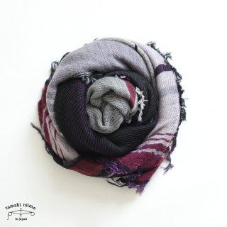 tamaki niime 玉木新雌 roots shawl wool middle RSM_W105/ ルーツショール ウール70% コットン30% ミドルサイズ