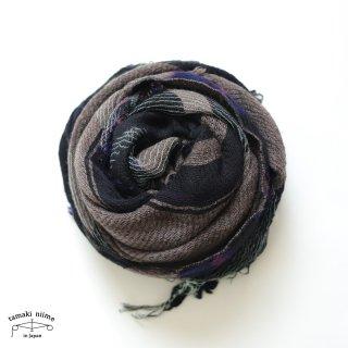 tamaki niime 玉木新雌 roots shawl wool middle RSM_W104/ ルーツショール ウール70% コットン30% ミドルサイズ