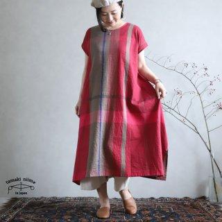 tamaki niime 玉木新雌 only one fuwa-T long 丸首(前後無し) cotton 100% FTL52 / オンリーワン フワT ロング コットン100%