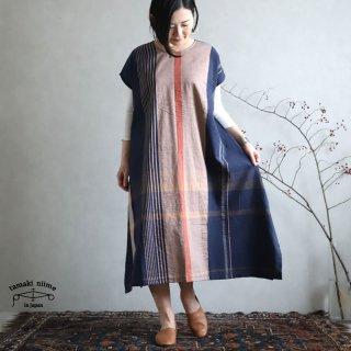tamaki niime 玉木新雌 only one fuwa-T long 丸首(前後無し) cotton 100% FTL53 / オンリーワン フワT ロング コットン100%