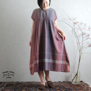 tamaki niime 玉木新雌 only one fuwa-T long 丸首(前後無し) cotton 100% FTL57 / オンリーワン フワT ロング コットン100%