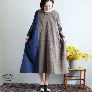 tamaki niime 玉木新雌 only one fuwa-T All 丸首(前後無し) cotton 100% FTA28 / オンリーワン フワT オール(長袖) コットン100%