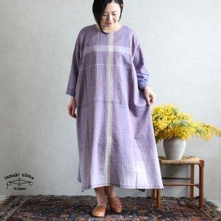 tamaki niime 玉木新雌 only one fuwa-T All 丸首(前後無し) cotton 100% FTA29 / オンリーワン フワT オール(長袖) コットン100%