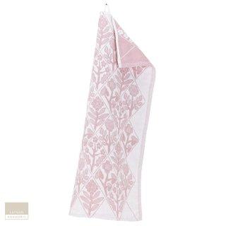 【1点のみゆうパケット可】LAPUAN KANKURIT ラプアン・カンクリ KUKAT Towel (W48×H70) white-rosa / タオル ピンク
