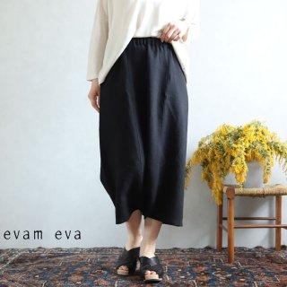 evam eva(エヴァム エヴァ) vie【2020ss新作】イージー サルエルパンツ / easy sarrouel pants black(90)  V201T938