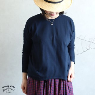 tamaki niime(タマキ ニイメ) 玉木新雌 maru t LONG SLEEVES サイズ1 27 cotton100% マル T ロングスリーブ コットン100%