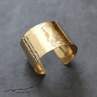 accessories mau (アクセサリー マウ)  平打ちbrass bangle(4cm)