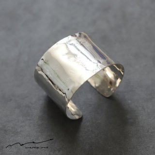 accessories mau (アクセサリー マウ)  平打ちsilver bangle(4cm)