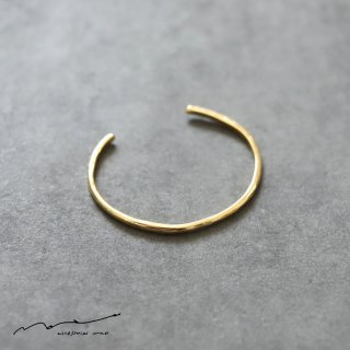 accessories mau (アクセサリー マウ)  細 brass bangle