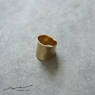 accessories mau (アクセサリー マウ)  NEW 平打ち ring brass