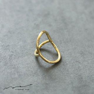accessories mau (アクセサリー マウ)  わっか ring brass