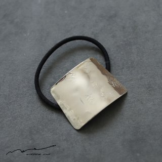 accessories mau (アクセサリー マウ)  ヘアゴム silver B