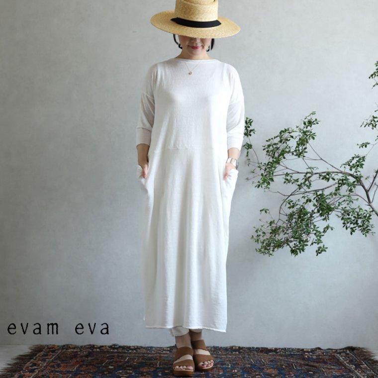 evam eva(エヴァム エヴァ)【2020ss新作】 ハイゲージリネン ワンピース