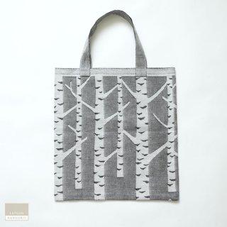 【1点のみゆうパケット可】LAPUAN KANKURIT ラプアン・カンクリ KOIVU bag white-black / バッグ リネン