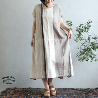 tamaki niime 玉木新雌 only one fuwa-T long 丸首(前後無し) cotton 100% FTL69 / オンリーワン フワT ロング コットン100%