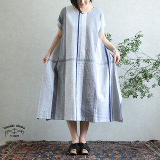 tamaki niime 玉木新雌 only one fuwa-T long 丸首(前後無し) cotton 100% FTL72 / オンリーワン フワT ロング コットン100%