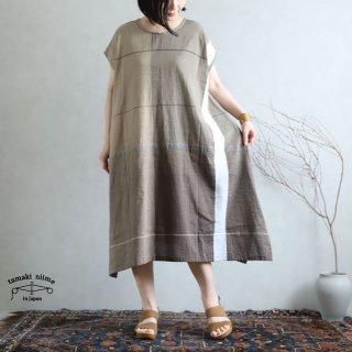 tamaki niime 玉木新雌 only one fuwa-T long 丸首(前後無し) cotton 100% FTL79 / オンリーワン フワT ロング コットン100%