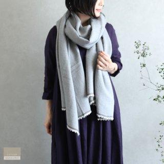 LAPUAN KANKURIT ラプアン・カンクリ【2020AW新作】VIIRU merino wool scarf  grey ヴィールスカーフ