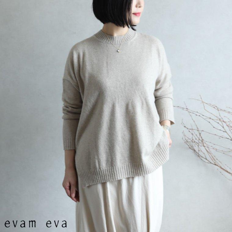 evam eva(エヴァム エヴァ) 【2020aw新作】ウールプルオーバー