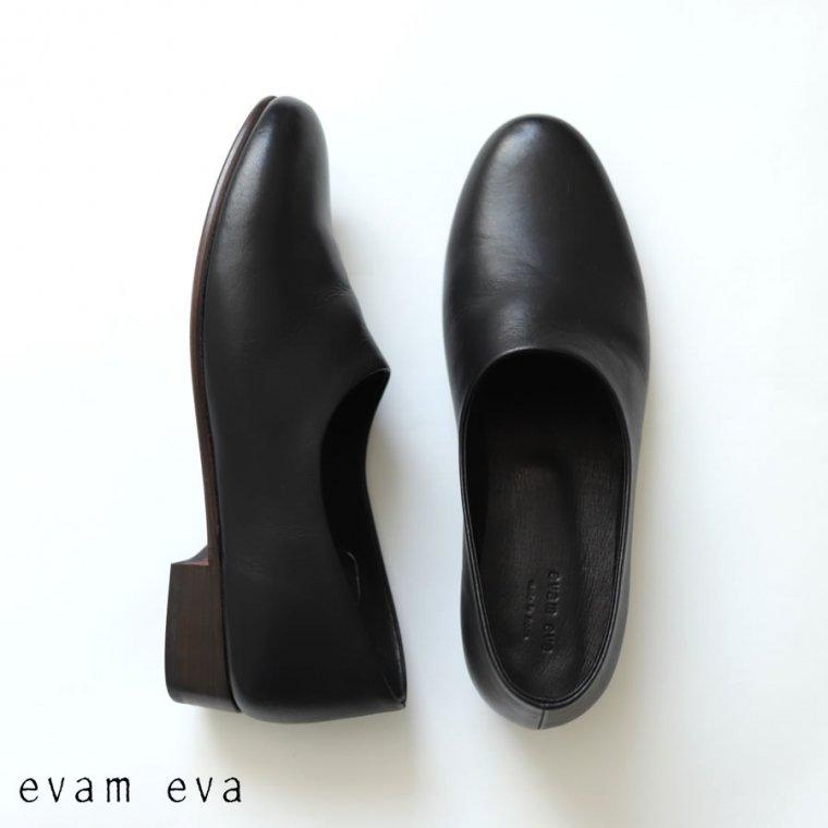 evam eva(エヴァム エヴァ)【2020aw新作】 レザースリッポン