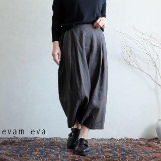 evam eva(エヴァム エヴァ) vie【2020aw新作】サイドタック サルエルパンツ / side tuck sarrouel pants stone gray(86)  V203T920