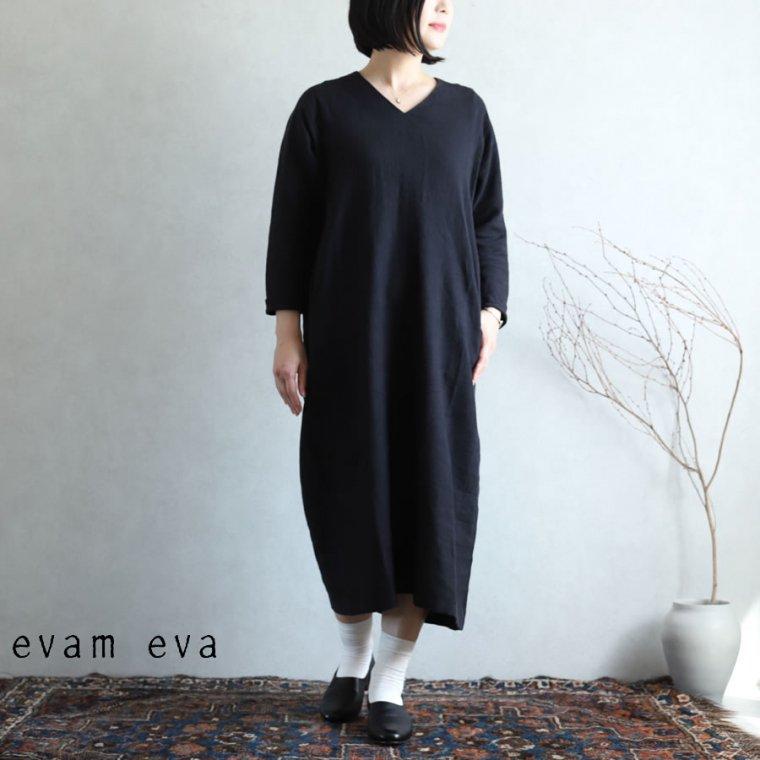 evam eva(エヴァム エヴァ) vie【2020aw新作】ライジングリネンドルマンワンピース