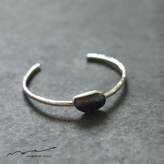 accessories mau (アクセサリー マウ)  サファイア silver bangle B