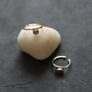 accessories mau (アクセサリー マウ)  スターサファイア イヤーカフ