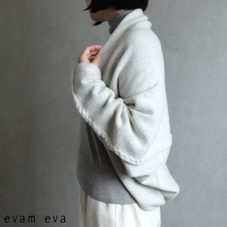 evam eva(エヴァム エヴァ) 【2020aw新作】ウールキャメル ボレロ