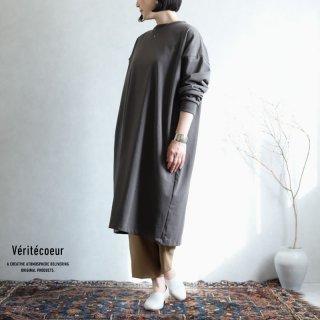 Veritecoeur(ヴェリテクール)【2020AW新作】天竺チュニック GRAY / VCC-361