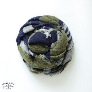 tamaki niime 玉木新雌 roots shawl wool middle RSM_W120/ ルーツショール ウール70% コットン30% ミドルサイズ