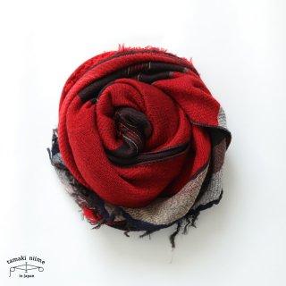 tamaki niime 玉木新雌 roots shawl wool middle RSM_W121/ ルーツショール ウール70% コットン30% ミドルサイズ