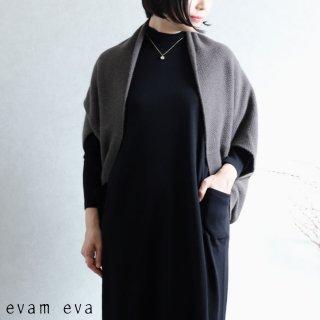 evam eva(エヴァム エヴァ) 【2020aw新作】ウールアンゴラ ボレロ / wool angora bolero winter leaf(48)  E203K120