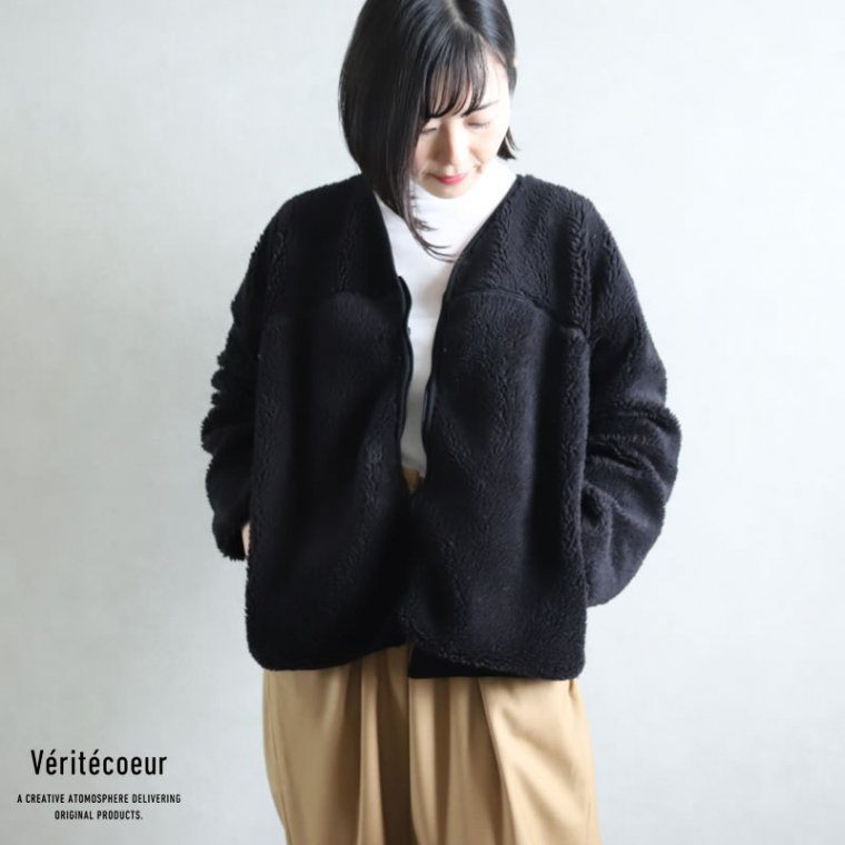 Veritecoeur(ヴェリテクール)【2020AW新作】ボアフリース ジャケット