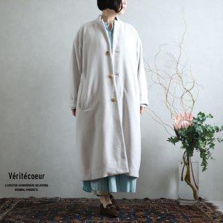 Veritecoeur(ヴェリテクール)【2020AW新作】ウールカシミヤ コート BEIGE / VC-2236