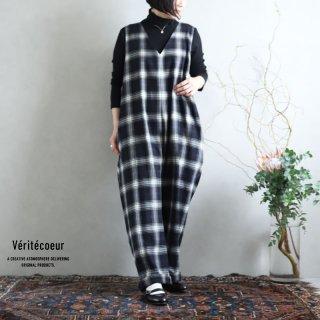 Veritecoeur(ヴェリテクール)【2020AW新作】チェックワンオール BLKCHK / VC-2234