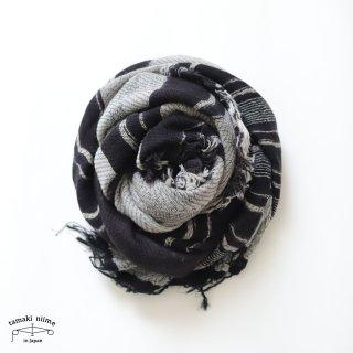 tamaki niime 玉木新雌 roots shawl wool middle RSM_W125/ ルーツショール ウール70% コットン30% ミドルサイズ