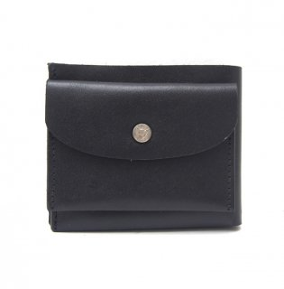 SIMPLE SHORT WALLET / BLACK