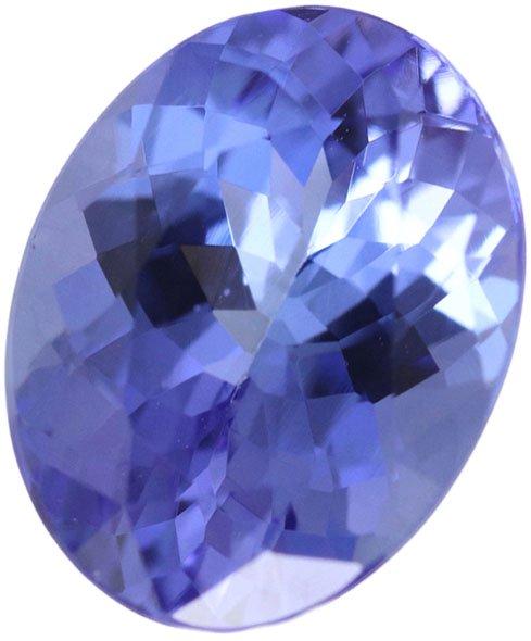 タンザナイト ルース 1.88ct 8.9×6.9mm50030いしや宝石