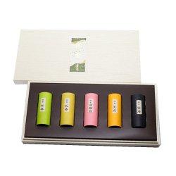 香舗天年堂のお香 香木系漢薬系の香り 「お香5種セット」 ミニ寸(約7cm)