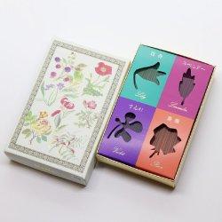 香舗久留米天年堂 香水系の香り 「花」 ラベンダー・バラ・百合・すみれのセット ミニ寸