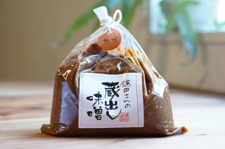[鎌田醤油]<br>鎌田さんの蔵出し味噌<br><熟成>